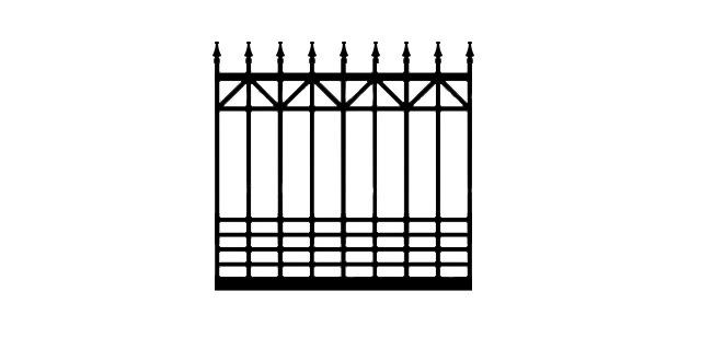 ADBX driveway gate