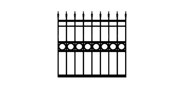 BCZF driveway gate
