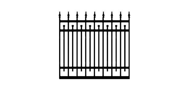 D85N driveway gate