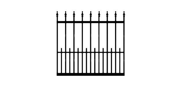 COTTONPORT GH9T DRIVEWAY GATE