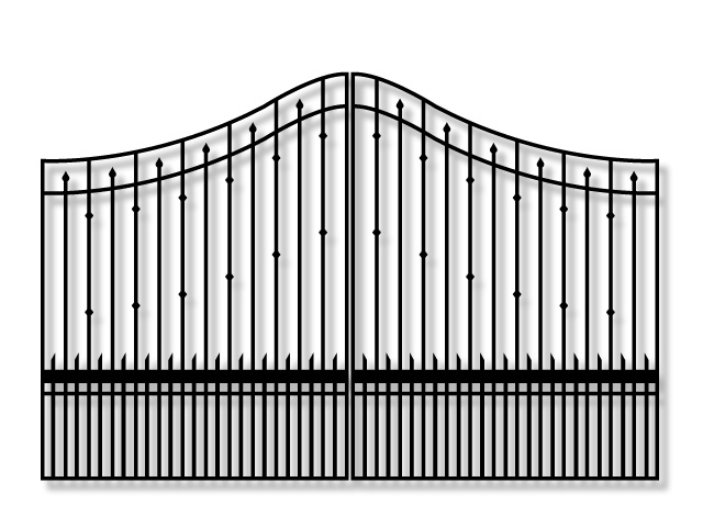 Whitmire PX9Y Driveway swing gate