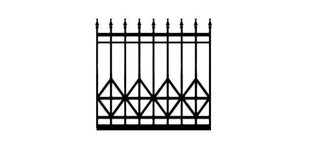 Bates RV6D driveway gate