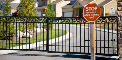 residential gate access security