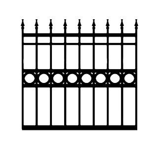 Sterling BCZF Driveway Iron Gate
