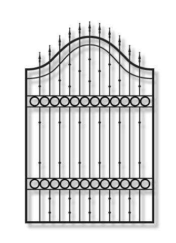 Adona KA33 garden Iron Gate