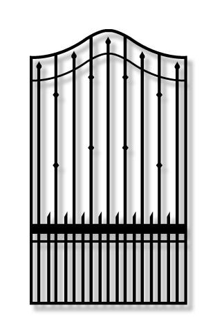 Whitmire PX9Y garden Iron Gate