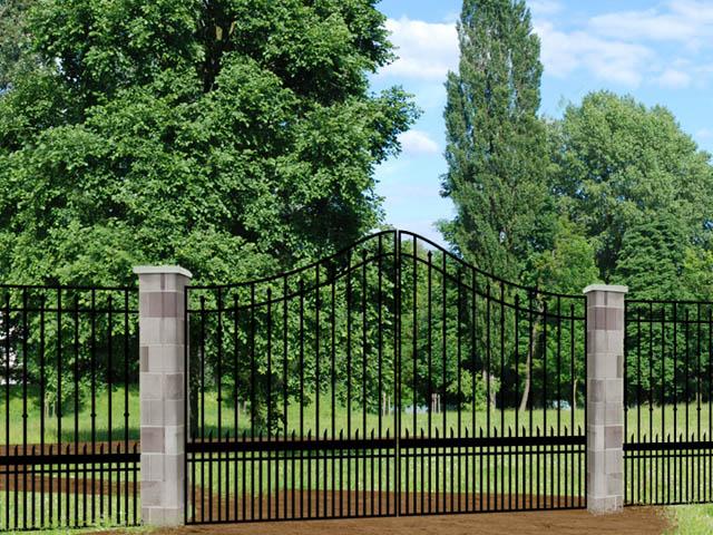 whitmire PX9Y iron driveway gate