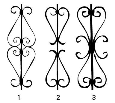gate picket Ornamental Steel