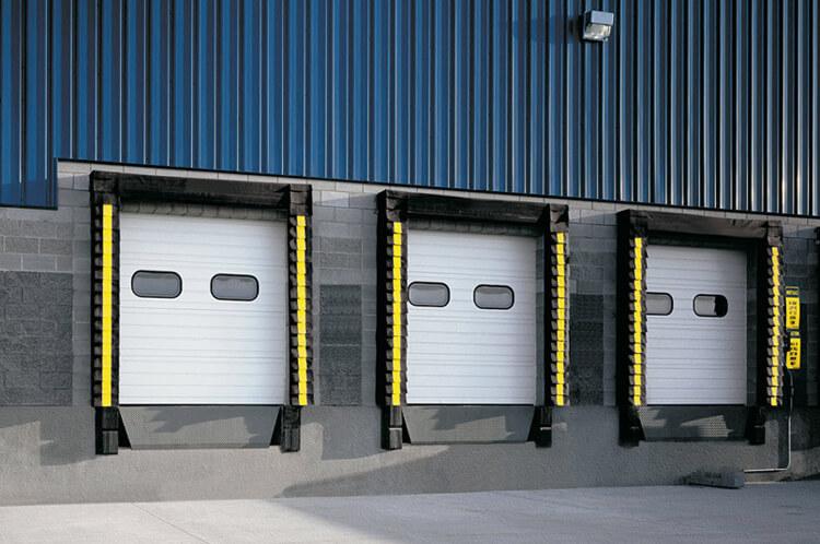 Therm acore sectional steel doors model 591 houston for Garage package edmonton